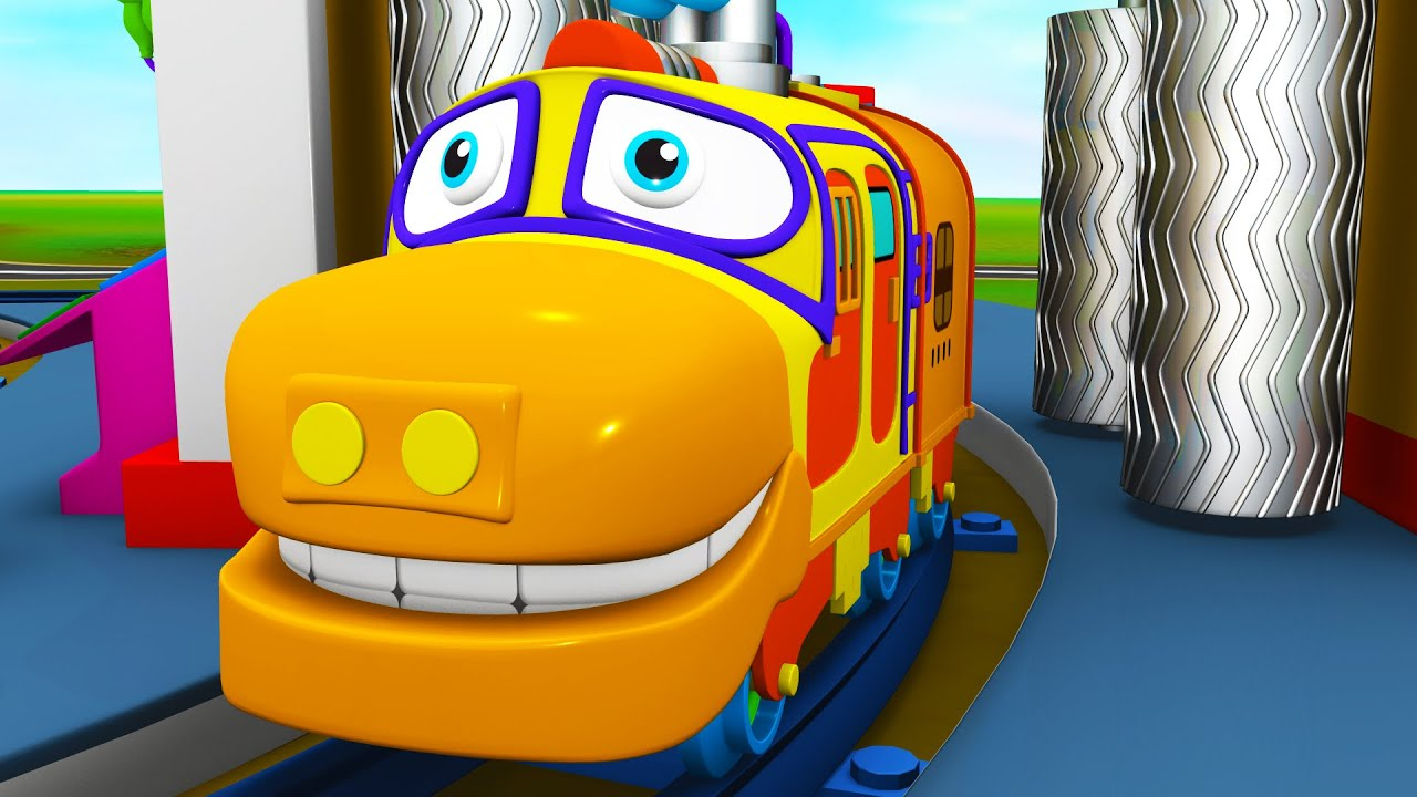 Toy Factory Cartoon - Choo Choo Toy Train Show for Kids - Trains Cartoon