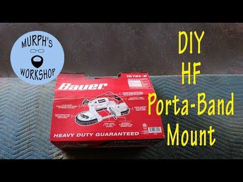 DIY Harbor Freight  Portable Bandsaw Mount