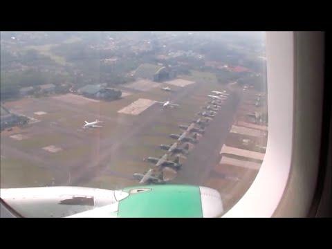 Citilink Take Off from Halim Perdanakusuma (HLP) and Landing at Adi Sutjipto (JOG)