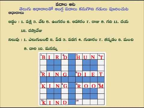 Teta Telugu - Kids Word Game - Telugu Word Game - Telugu to English Words