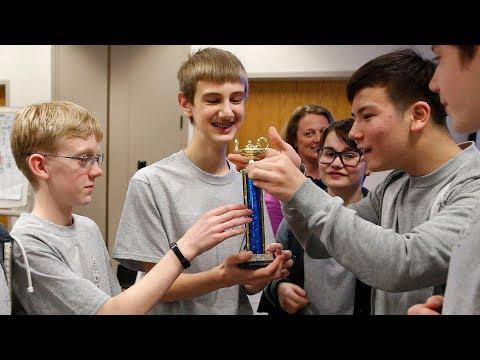 Shasta Middle School wins 2018 Brain Bowl