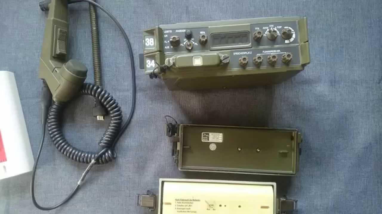 Army Vehicles For Sale >> SEM 70 Bundeswehr Funkgerät Militär Military Radio German ...