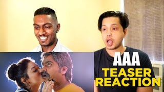 AAA - Ashwin Thatha Teaser Reaction & Review | STR | PESH Entertainment
