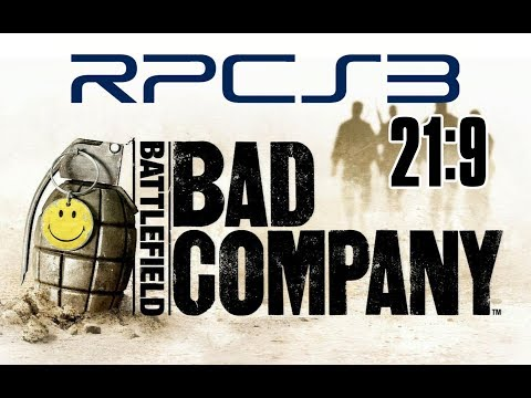 RPCS3 PS3 Emulator - Battlefield Bad Company (21:9 Ultrawide) - Музыка для  Машины
