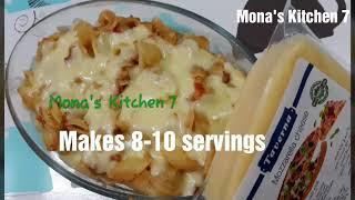 How to make Cheesy macaroni by Mona