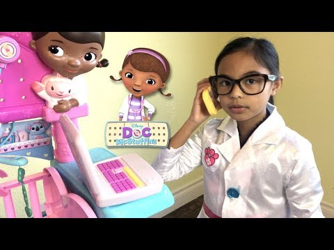 Disney Doc McStuffins First Responders Backpack Set with Snuggles | Toys Academy