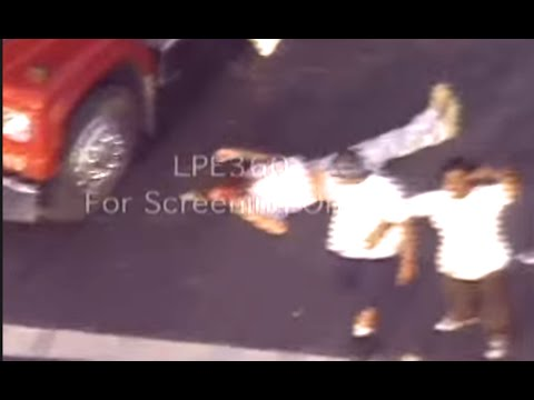 LA Riots, Raw footage of Reginald Denny beatings - April 29, 1992