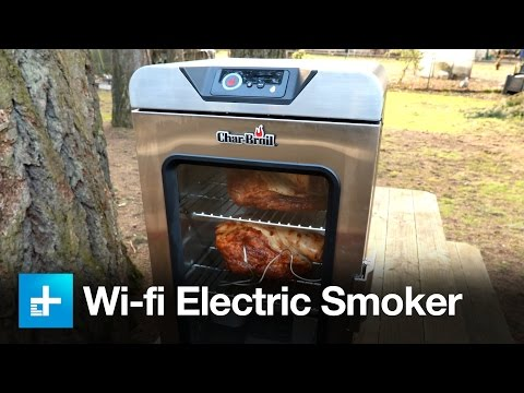 Char--Broil Digital Electric Smoker with SmartChef Technology - Review