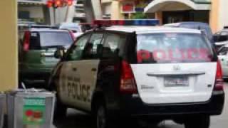PHILIPPINE POLICE CAR
