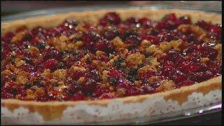 Mass Appeal Cranberry Walnut Tart & Simple Cranberry Sauce