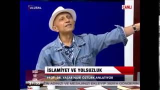 Yaşar Nuri Öztürk - Diyanete yanit,  Sahabe, hirsizlik ve   peygamber, Maun sarayi talan Havuzlari 2017 Video