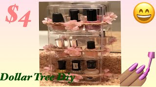 DOLLAR TREE DIY ( Nail Polish Holder)