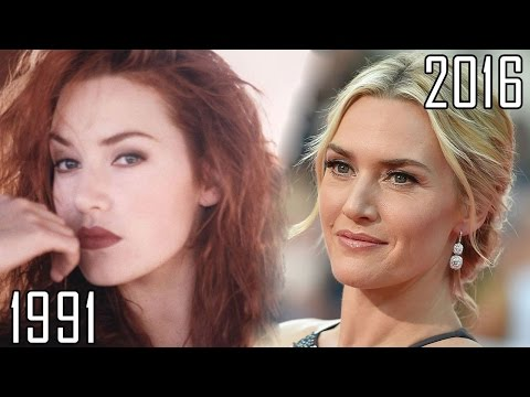 Kate Winslet 19912016 all movies list from 1991! How much has changed?Before and Now! Titanic