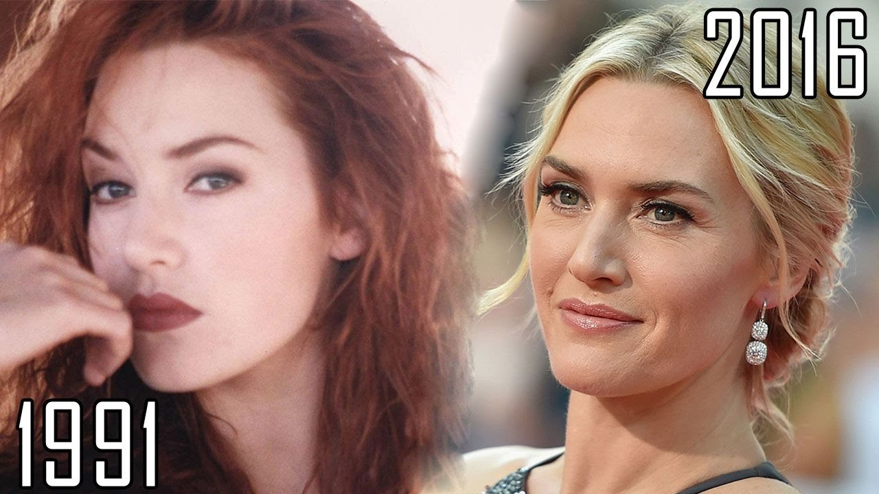 Image result for kate winslet then and now