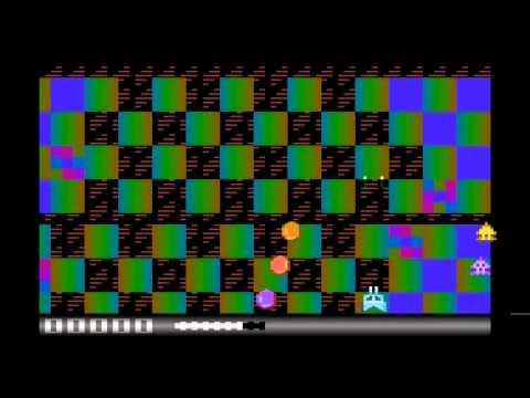GTIABlast! GTIA mode 11 - A work-in-progress game for the Atari 400/800 etc computers #gigatownDUN