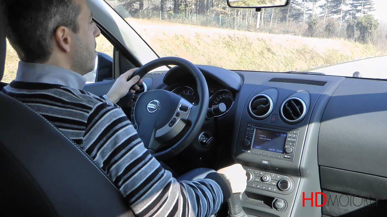 nissan qashqai 1.6 gpl test drive da hdmotori.it - youtube