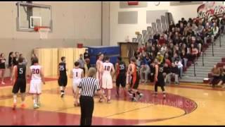 Boy's High School Basketball: Bedford Bulldogs Vs Keene Blackbirds (2/28/14)