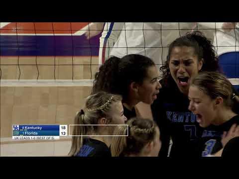VB: Kentucky 3, Florida 1 -   Full Highlights