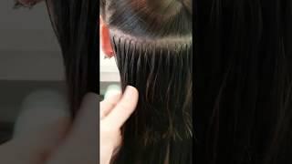 Наращивание волос за 15 минут