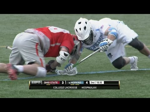 Face-Off Film Room: Jake Withers vs. Johns Hopkins