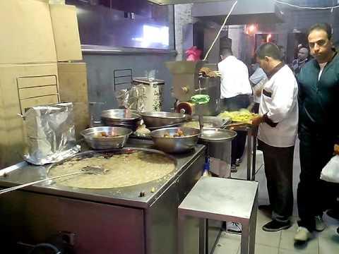 Falafel machine in Aqaba. 2