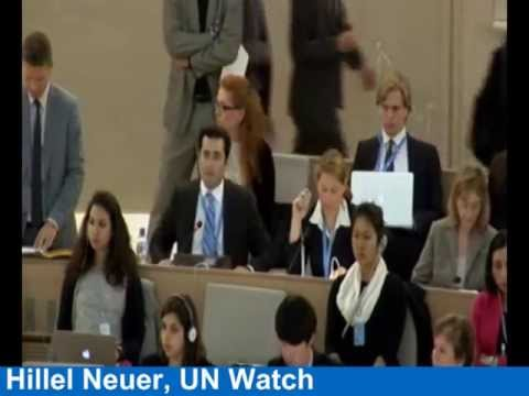 Truth Told At The UN: Why Richard Falk's Title Is A Lie