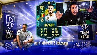 WE GOT 95 TOTY HAZARD!! TOTY PACKED!! FIFA 20