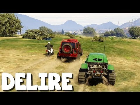 (Video-Delire) GTA 5 Online avec Azzdingue - Episode 09