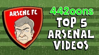 442oons: Top 5️⃣ Arsenal Videos!