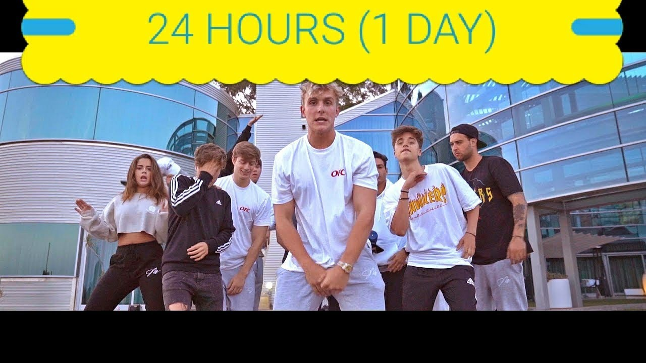 24 Hours 1 Day Jake Paul Its Everyday Bro Song Feat Team 10 Official Music Video 24 Hours