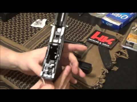 how to clean a H&K VP9