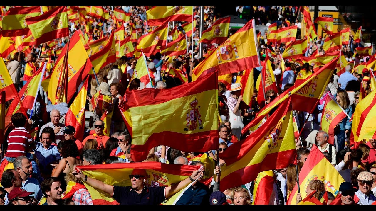 Spaniards hold rallies amid rising independence tension
