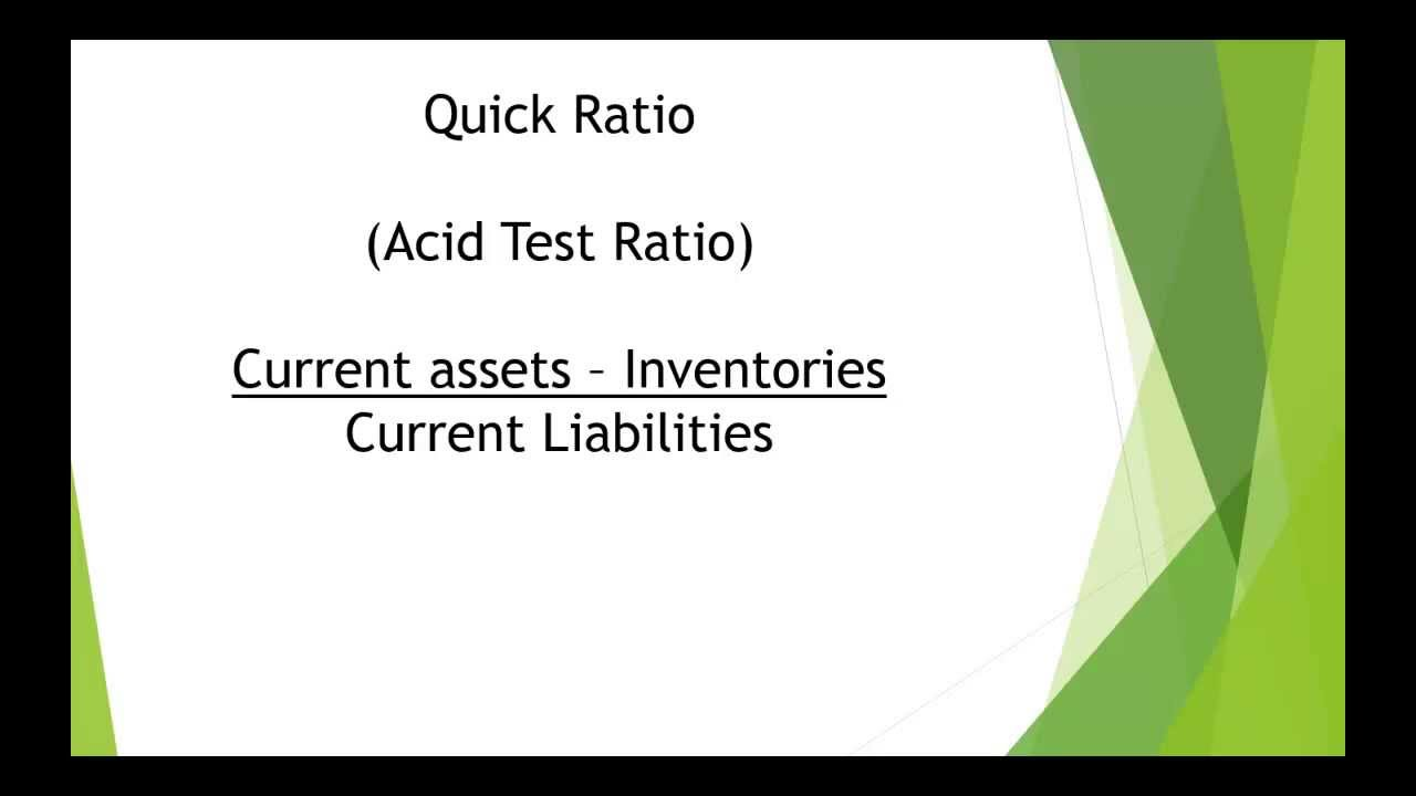 Accounting ratios Compare two companies - YouTube