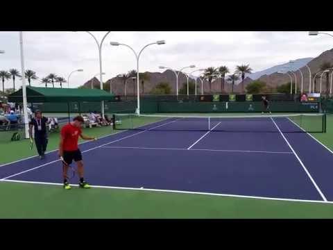 Rafael Nadal and Pablo Carreño Busta Indian Wells Masters 3/11/15 Part II