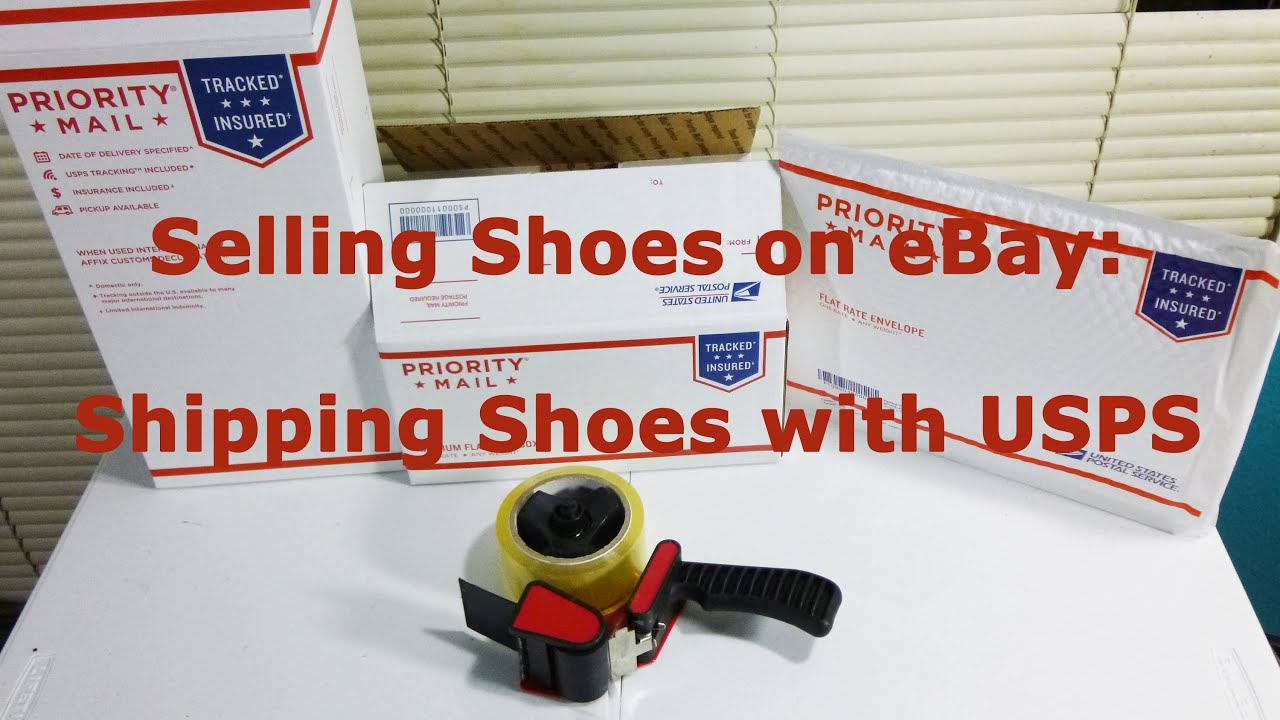 Selling Shoes On Ebay Shipping Shoes With Usps Youtube