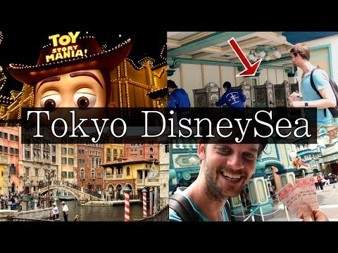 Tokyo DisneySea Full Guide - How to 'Complete' in ONE DAY!