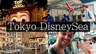 """Tokyo DisneySea Full Guide - How to """"Complete"""" in ONE DAY!"""