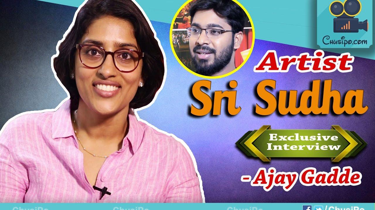 Artist SRI SUDHA Exclusive Full Interview by Ajay Gadde || ChusiPo