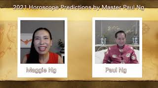 2021, Year of Metal OX, Zodiac Prediction, MONKEY people, Feng Shui Master, Paul Ng,  Canada