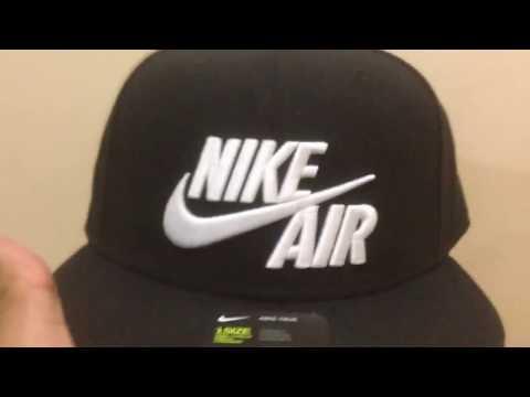 4b709ca9 Nike Air Black 9FIFTY Cap [original] - YouTube