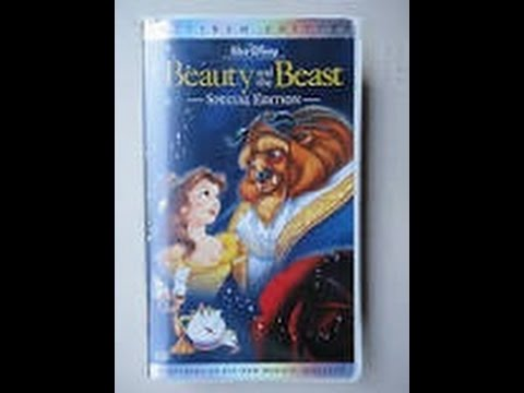 closing to beauty and the beast 2002 vhs special edition