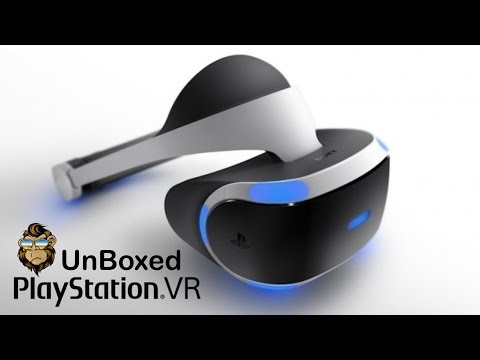 Playstation VR UnBoxing - Australia PS4
