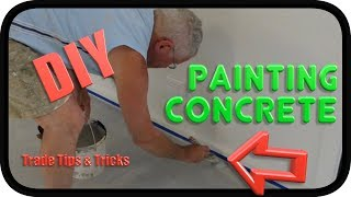 Prepare & Paint Concrete Garage Floor | White Knight Ultra Pave | How To DIY