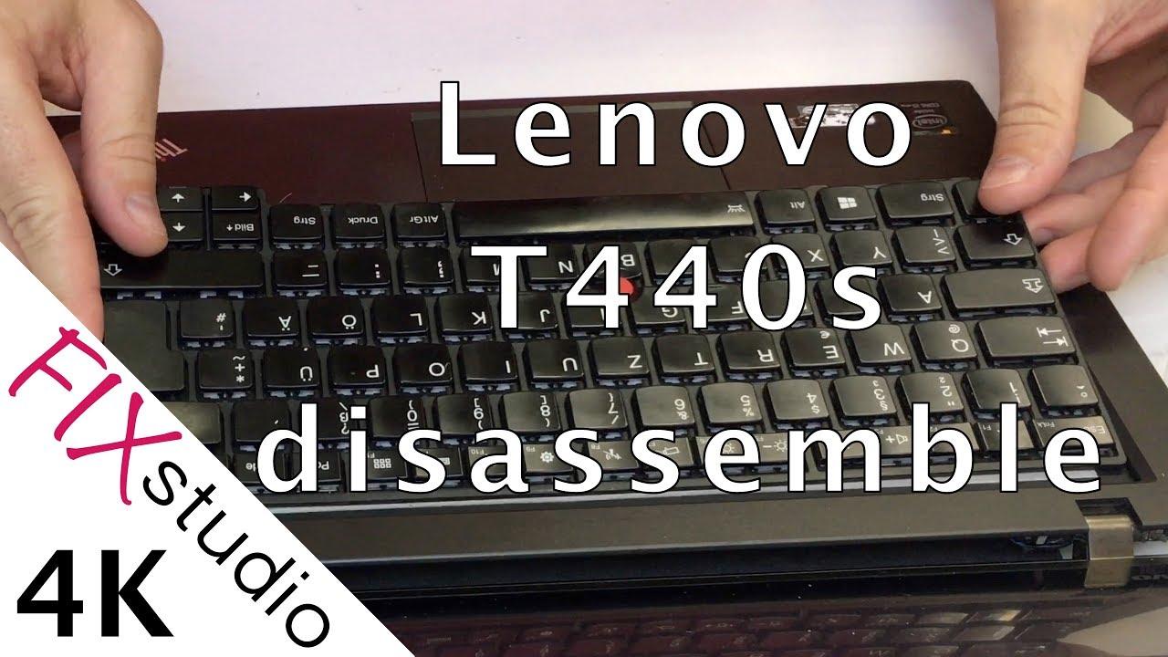 Lenovo T440s - disassemble [4K]