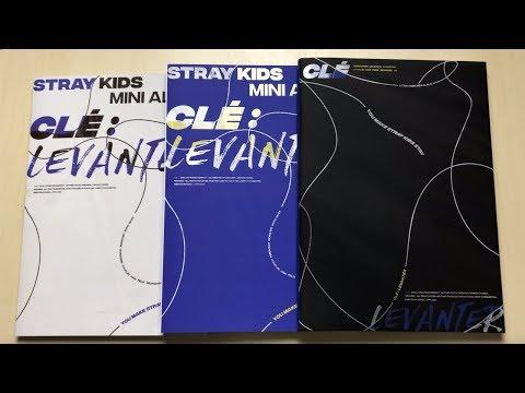 ♡Unboxing Stray Kids 스트레이키즈 5th Mini Album Clé 3: Levanter (Clé, Levanter & Limited Ver.)♡
