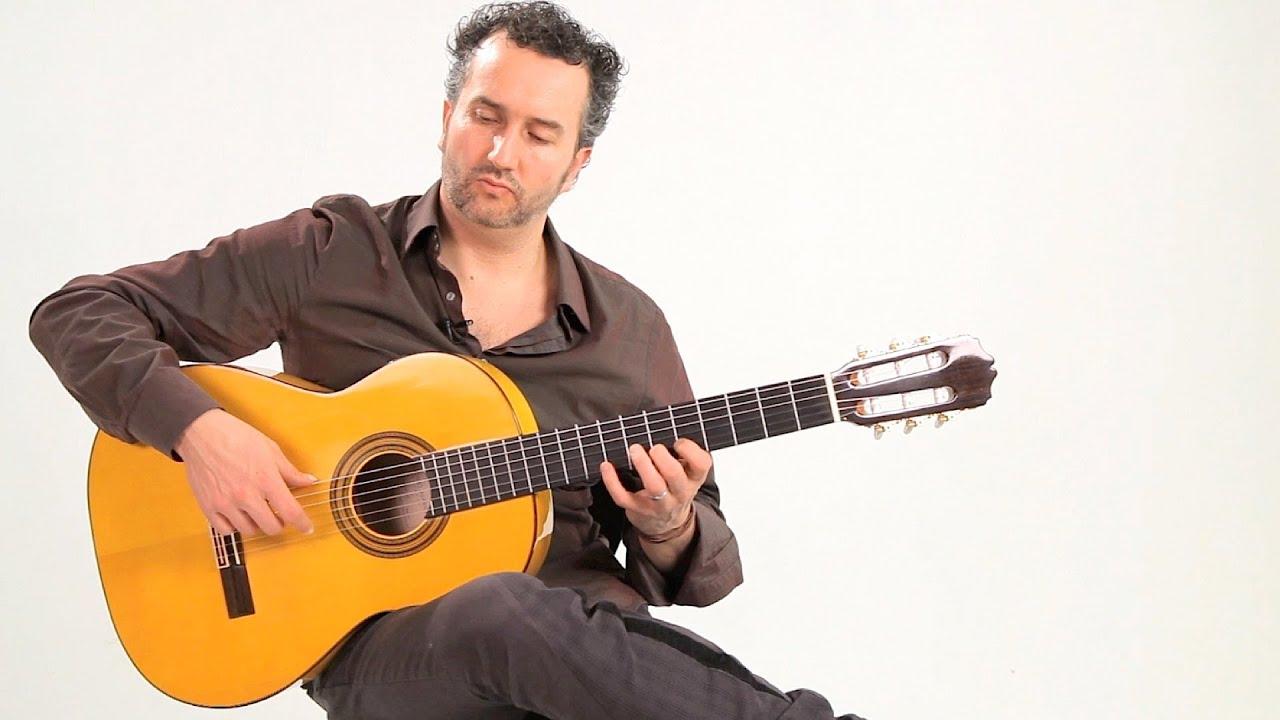 How To Hold A Flamenco Guitar