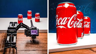 MAKE A COLA COMMERCIAL AT HOME!