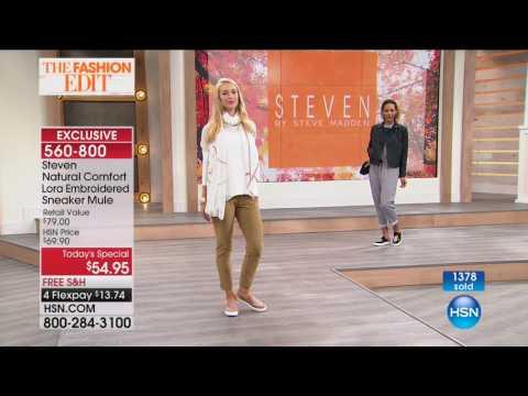 HSN | Steven by Steve Madden Footwear 08.10.2017 - 12 AM