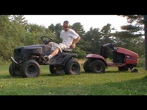 how to make a hydrostatic lawn mower go fast