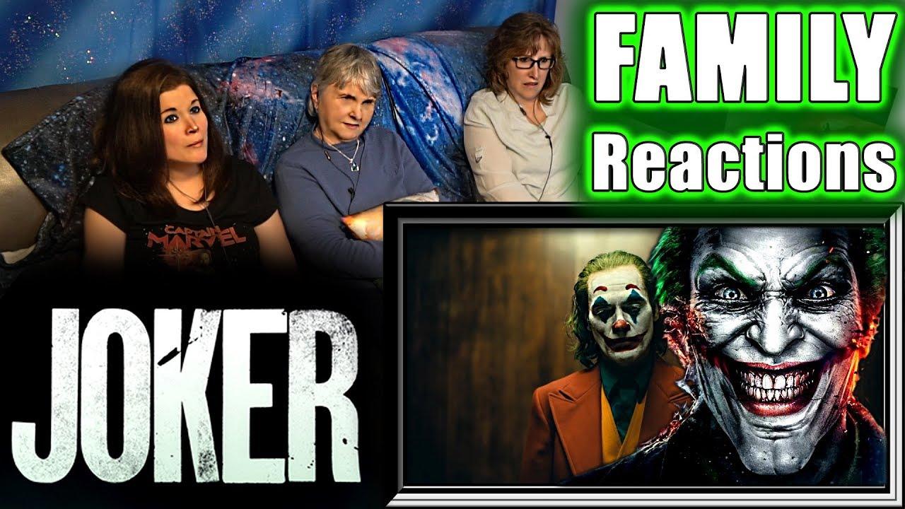 Download JOKER | teaser trailer | FAMILY Reactions